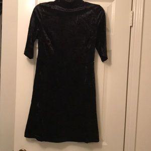 Black velvet dress NWT
